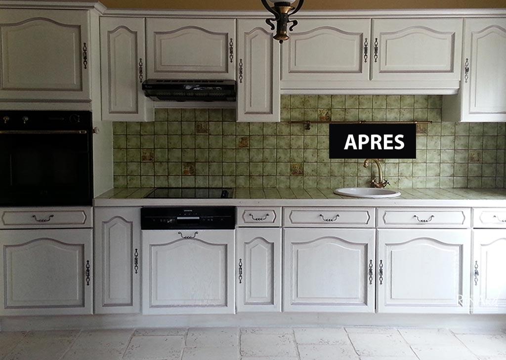 Relooking cuisines galeries photos ateliers renard essonne for Cuisine relookee