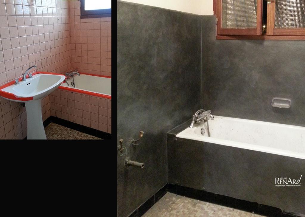enduit carrelage salle de bain delightful enduit pour. Black Bedroom Furniture Sets. Home Design Ideas