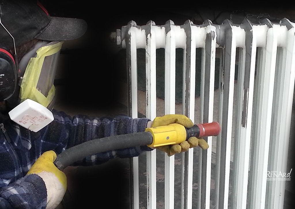Nettoyer radiateur fonte simple console sceller rf with nettoyer radiateur fonte great - Nettoyer rouille sur fonte ...