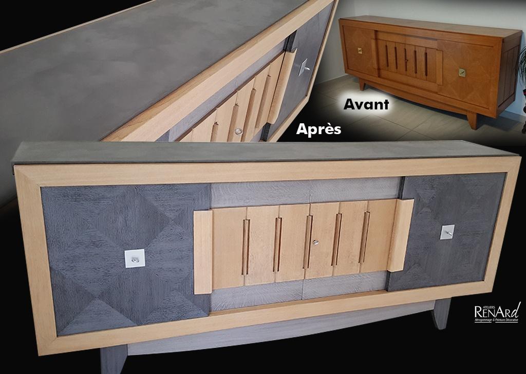 Relooking meubles galeries photos par les ateliers renard - Relooking meuble ...