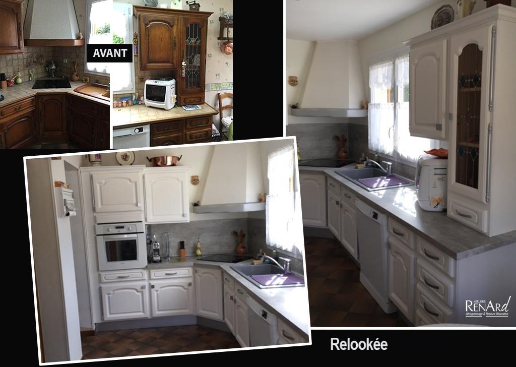 relooker cuisine bois great plan de travail cuisine bois. Black Bedroom Furniture Sets. Home Design Ideas