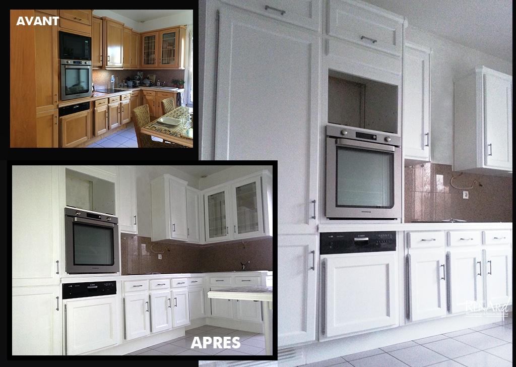 Relooker cuisine en bois meubles de cuisine en bois for Peinture meuble de cuisine