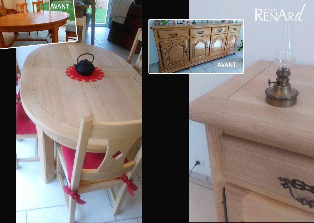 Relooking meubles galeries photos par les ateliers renard - Peinture decorative meuble bois ...