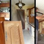 renovation cuisine par sablage aérogommage