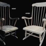 décaper poncer chaise