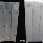 nettoyage casier metalique