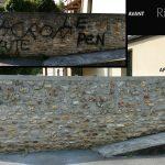 Aérogommage Graffitis