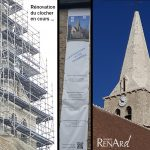 Rénovation monument par aérogommage