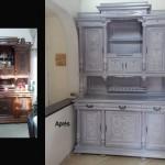 relooking patine meuble Henri II
