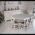 meuble de salle à manger patinée
