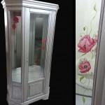 meuble peint métalisé