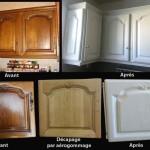 décaper meubles cuisine