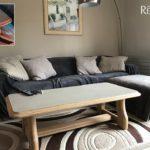 Relooking meuble bois et béton ciré