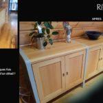 relooking meuble minimaliste