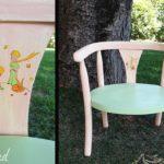 relooking chaise enfant le petit prince