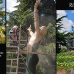 aerogommage-decapage-metal-monument-liberation-etampes-ateliers-renard