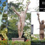 aérogommage statue de la libération Etampes
