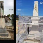 aerogommage nettoyage monument historique